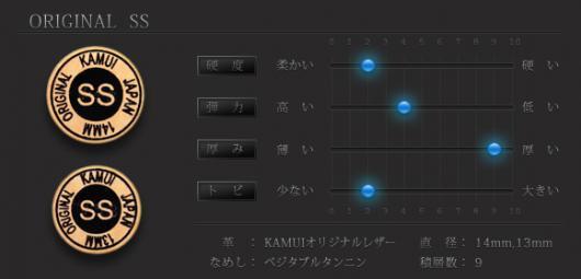 カムイオリジナル タップ [KAMUI ORIGINAL TIP] SS