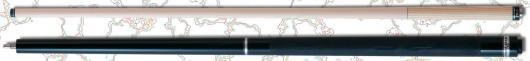 ビリヤード キュー [MEZZ] [パワーブレイクプロ-POWERBREAKシリーズ] PBPG-K [パワーグリップ] (黒)