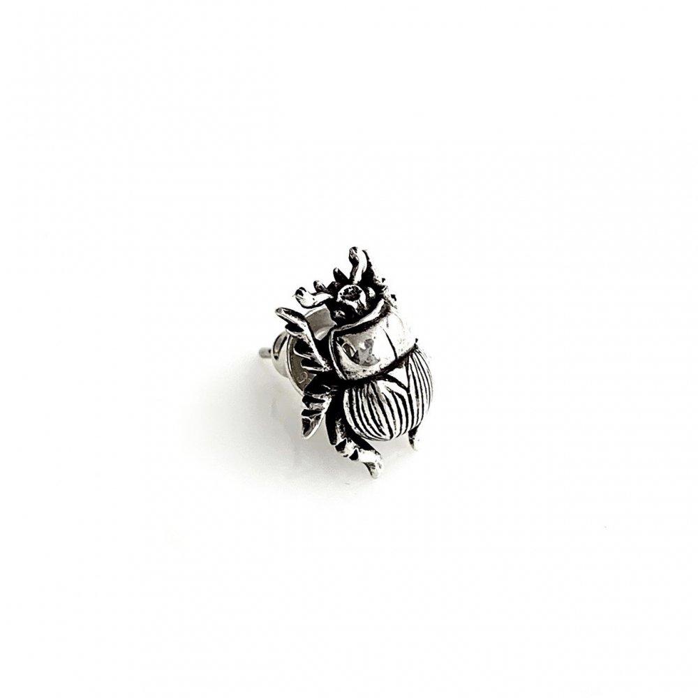 センチコガネピアス silver925