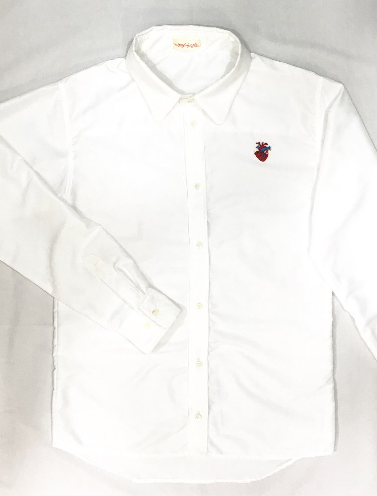 <ご予約>Heart Shirt(White)<10月お届け>