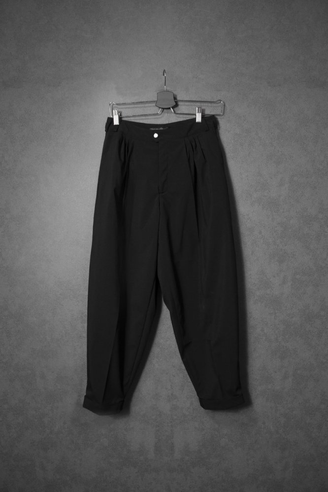 Tapered Tuck Pants