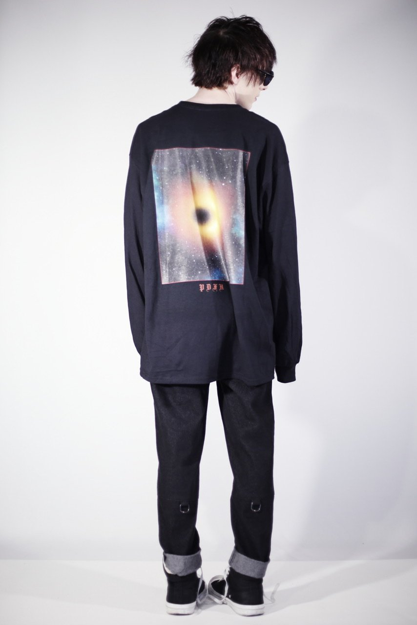 "<予約>""Cosmo""oversized long sleeve shirt<7月中旬発送>"