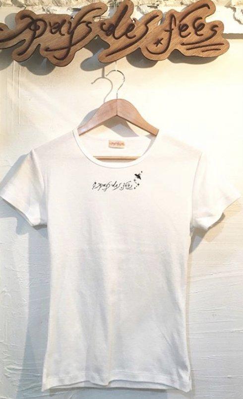 pays des fees LOGO T-shirt White
