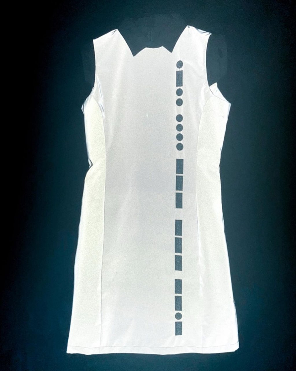 [ご予約]Reflector Morse code Dress[2021年3月お届け]