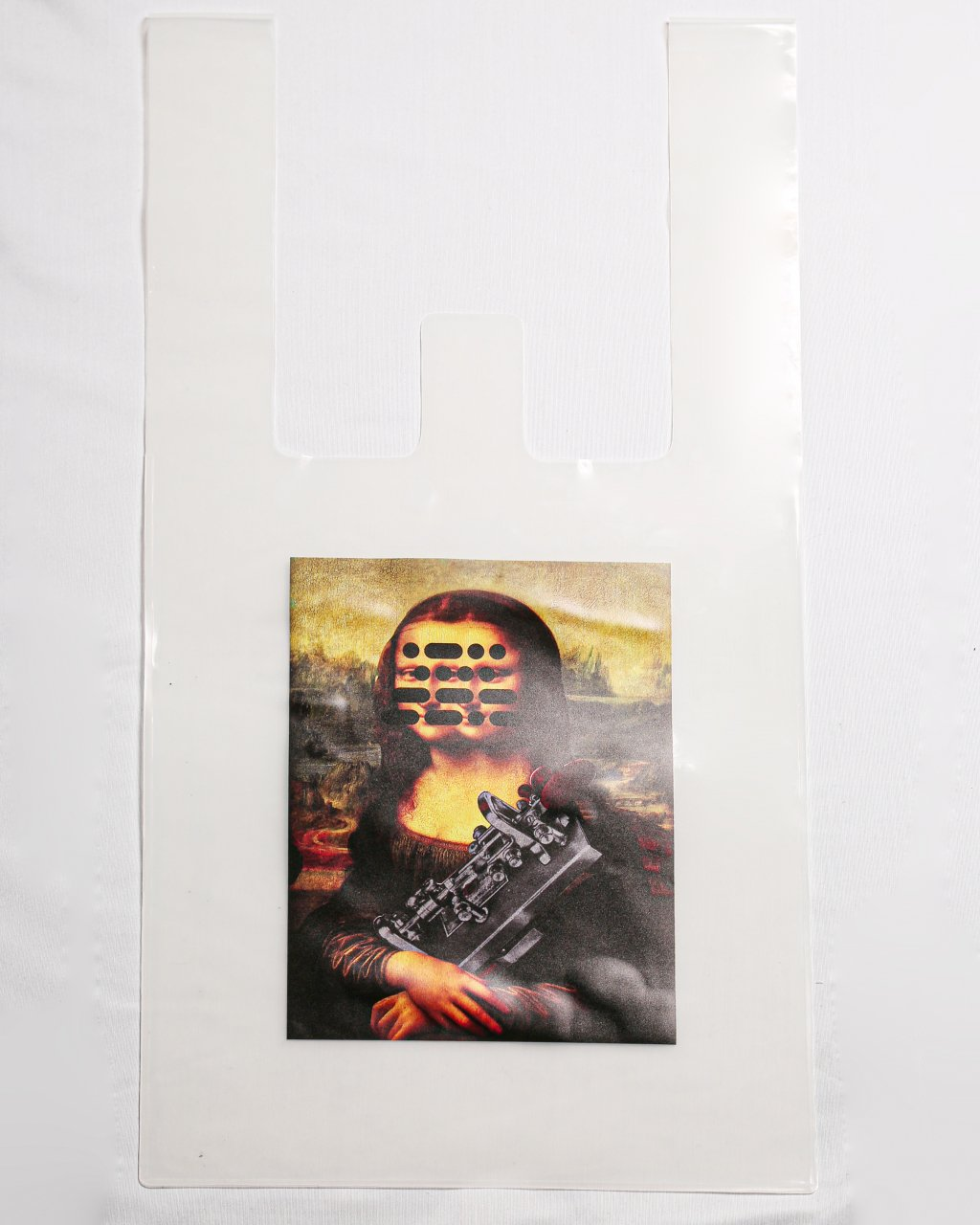 PVC bag(collage by Q-TA)