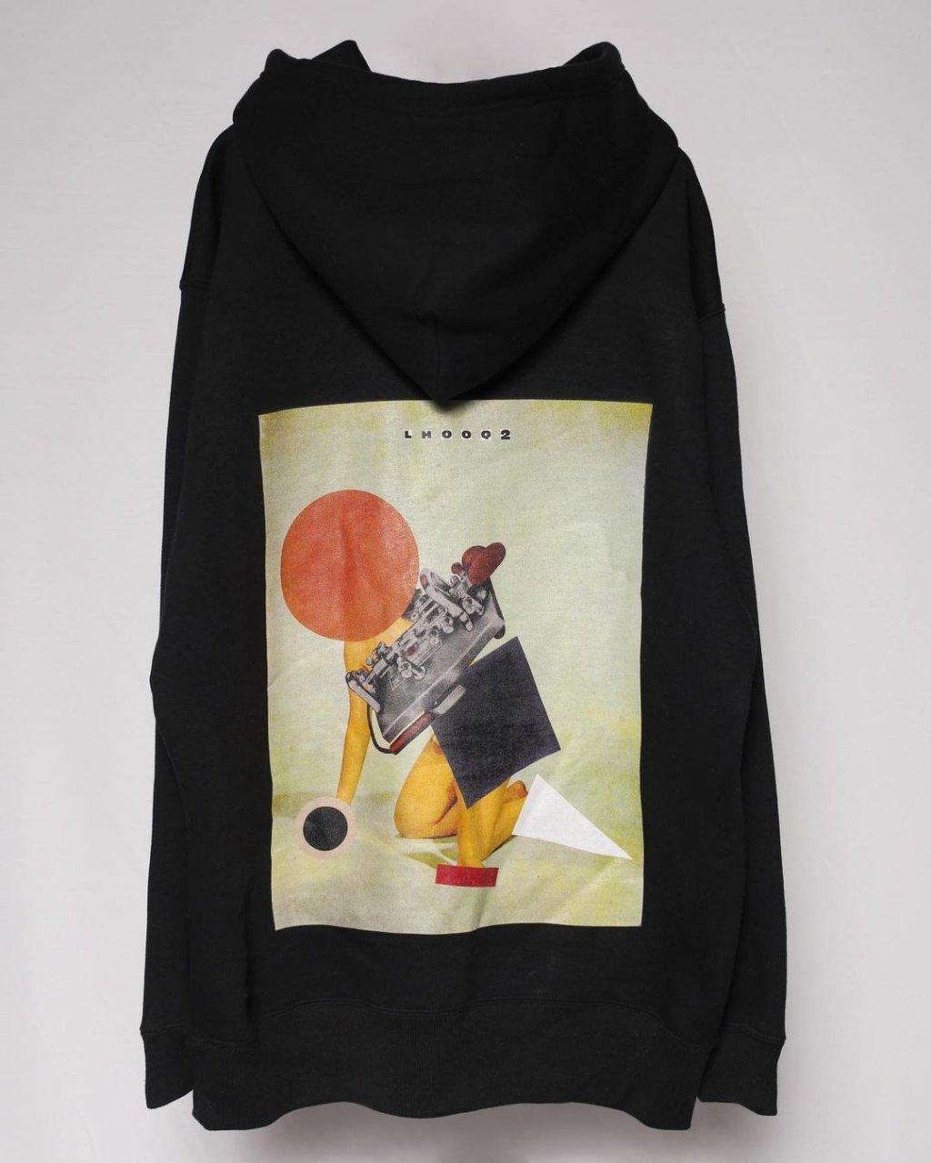 Hoodie(collage by Q-TA)(Black)