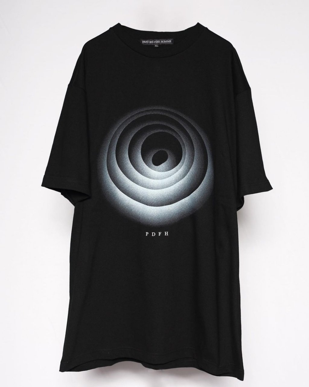 """Time Hole""Print T shirt"