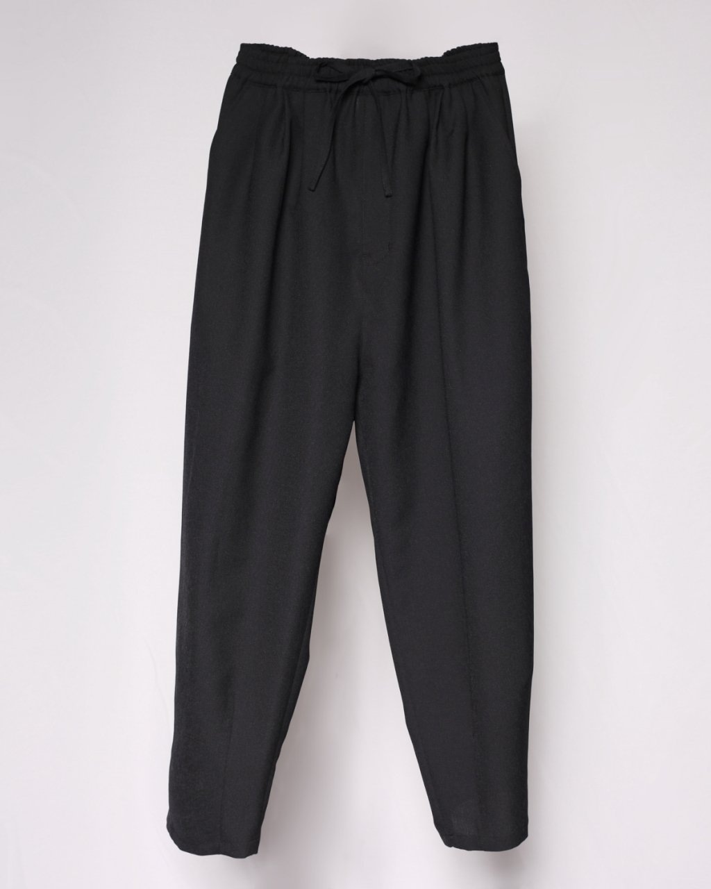 """The Pardon""Tuch Wide Pants Black"