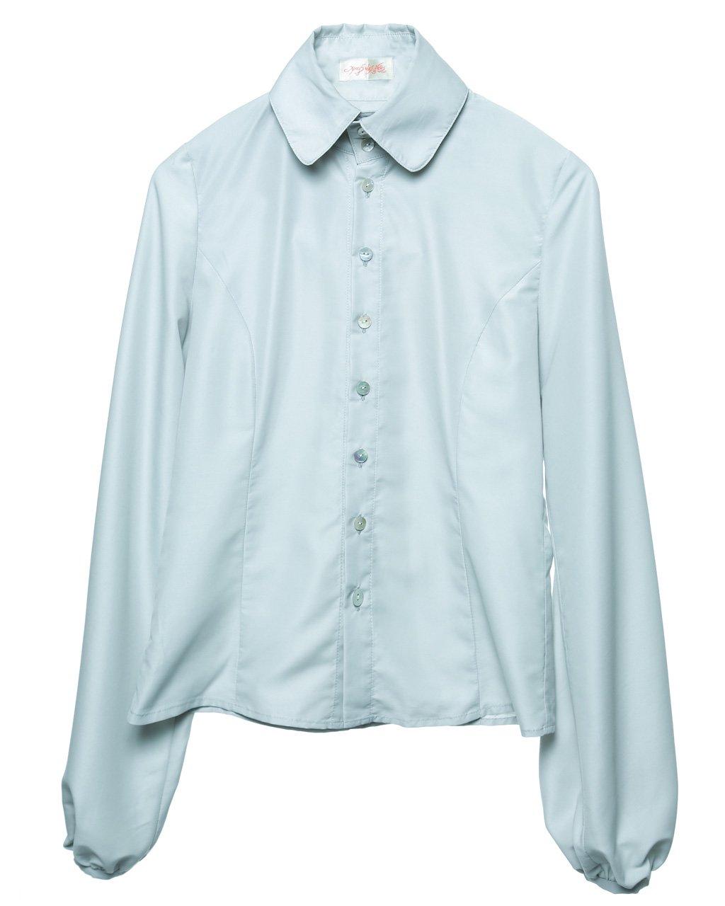 [ご予約]Balloon shirt (grey)[8月お届け]