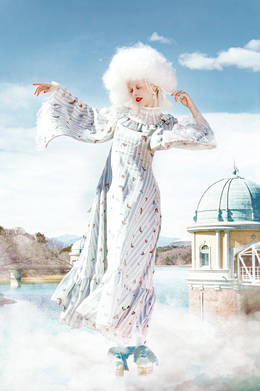 [ご予約]Moth dress[8月お届け]