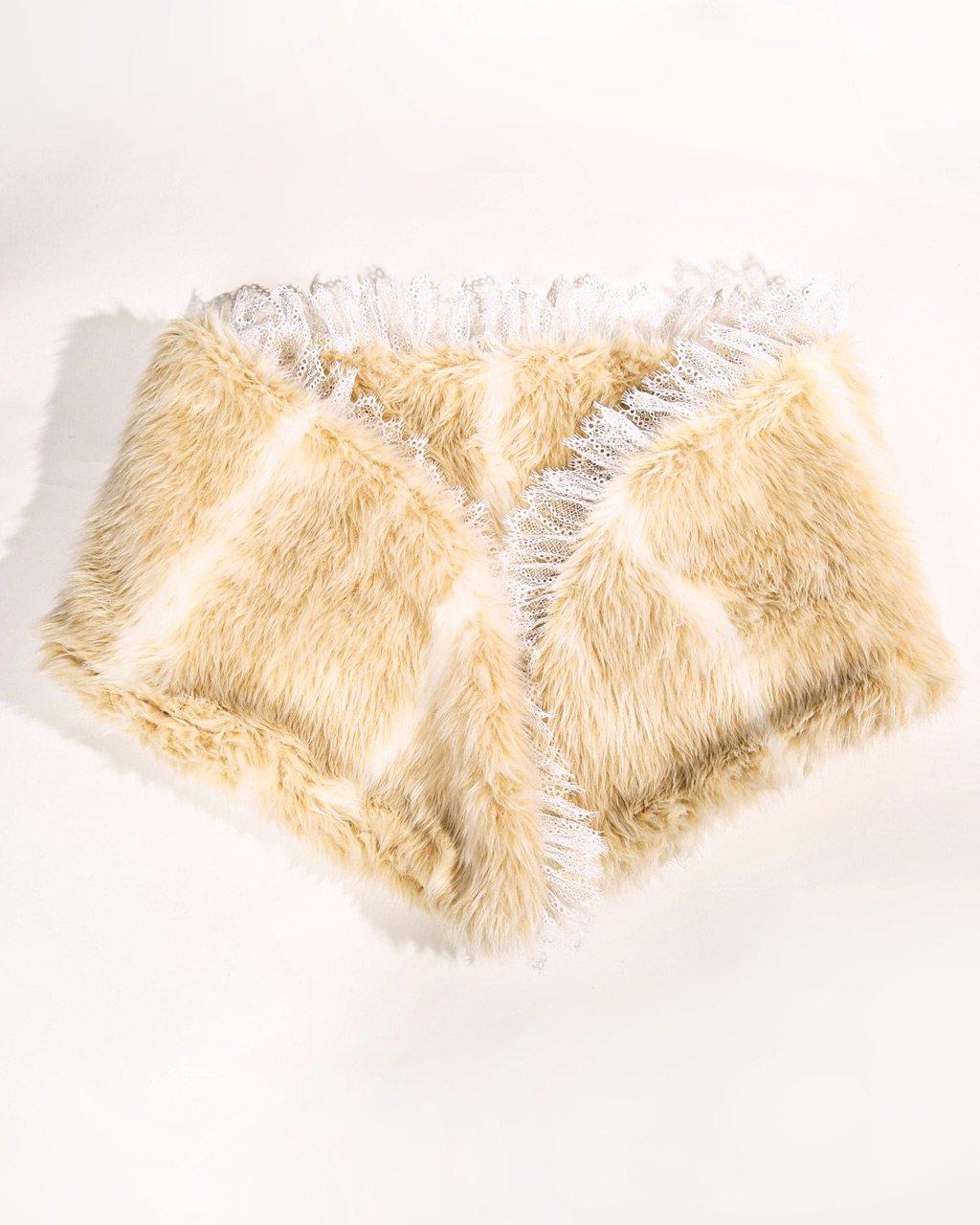 [ご予約]faux fur stole[8月お届け]