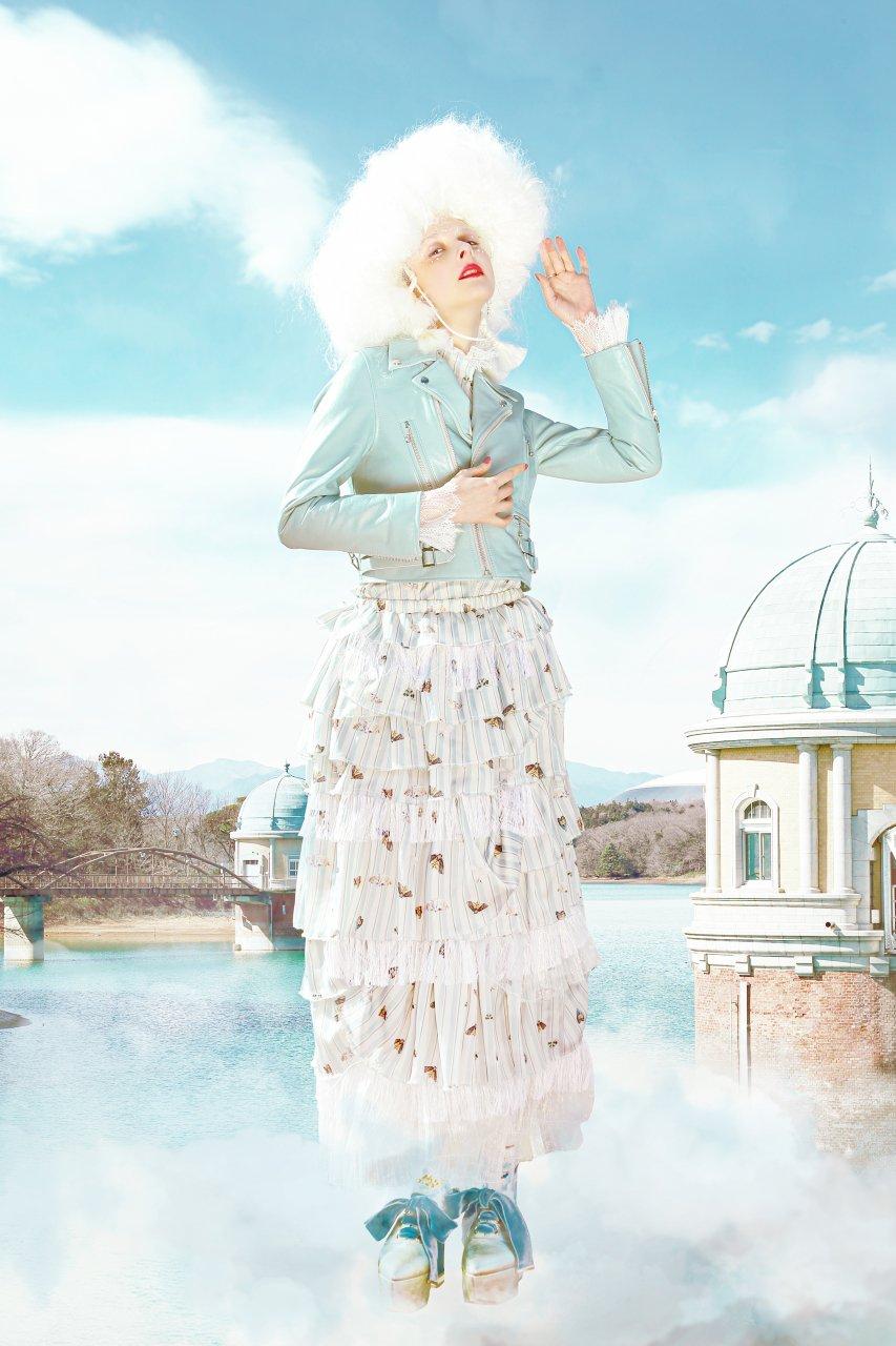 [ご予約]Moth skirt[8月お届け]