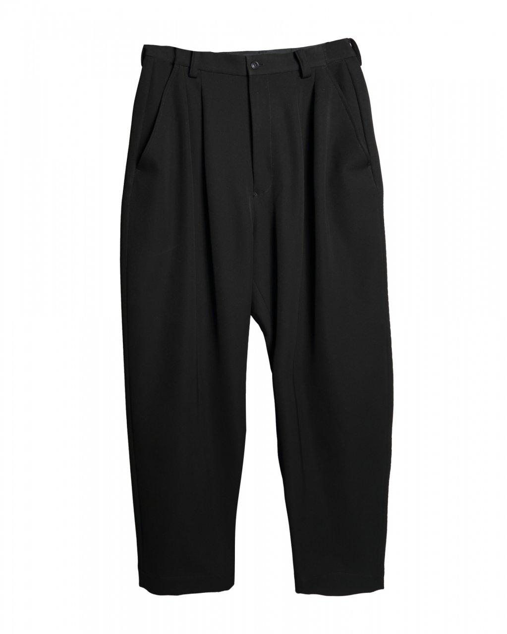 [ご予約]Waist Adjuster Wide Pants[10月お届け]