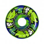 【56mm】SPITFIRE(ウィール)_F4 Burn For Ever_Conical Full 99a_Green/Yellow