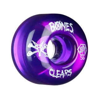 【56mm】BONES(ウィール)_SPF P2 Series_Clears Purple