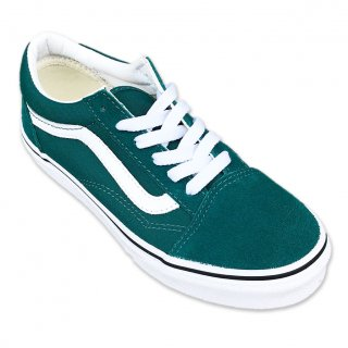 VANS(シューズ)_KID'S(キッズ)_Old School _Quetzal Green/True White