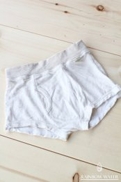 【LINEN COTTON】 Kid's ボクサーパンツ / NATURAL OFF WHITE