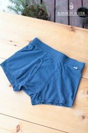 【HEMP ORGANIC COTTON】Men's ボクサーパンツ / 藍染めLIGHT INDIGO