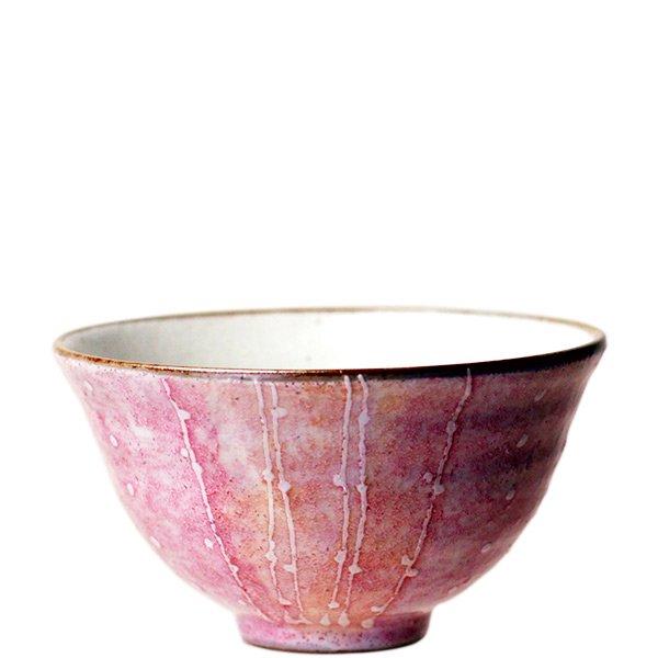 花音の茶碗 ピンク - 食器通販サ...