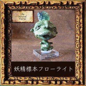 鉱物妖精標本イングランドフローライトの妖精(The Mineral Fairies)