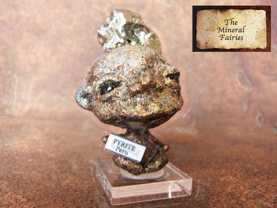 鉱物妖精標本パイライトの妖精2(The Mineral Fairies)