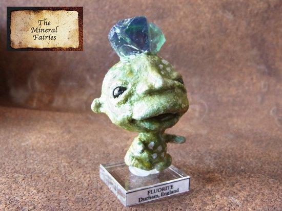 鉱物妖精標本 イングランドフローライトの妖精 (The Mineral Fairies)