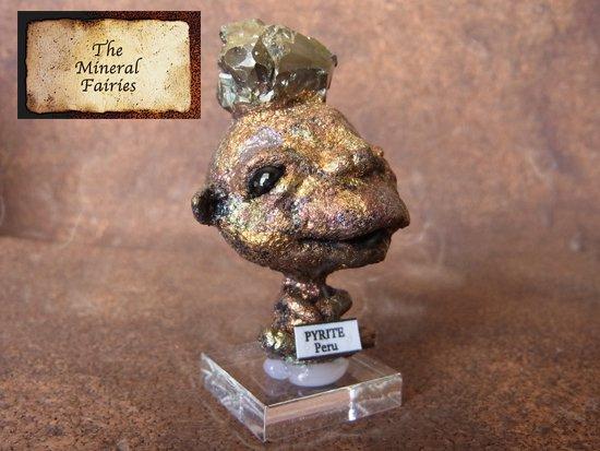 鉱物妖精標本パイライトの妖精3(The Mineral Fairies)