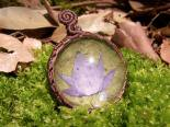 蓮の葉の雫妖精 ロータスペンダント3