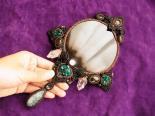 魔法の鏡 オブシディアンのスクライニングミラー