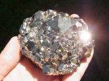 黄金の石ゴールドパイライト結晶(ペルー産)2