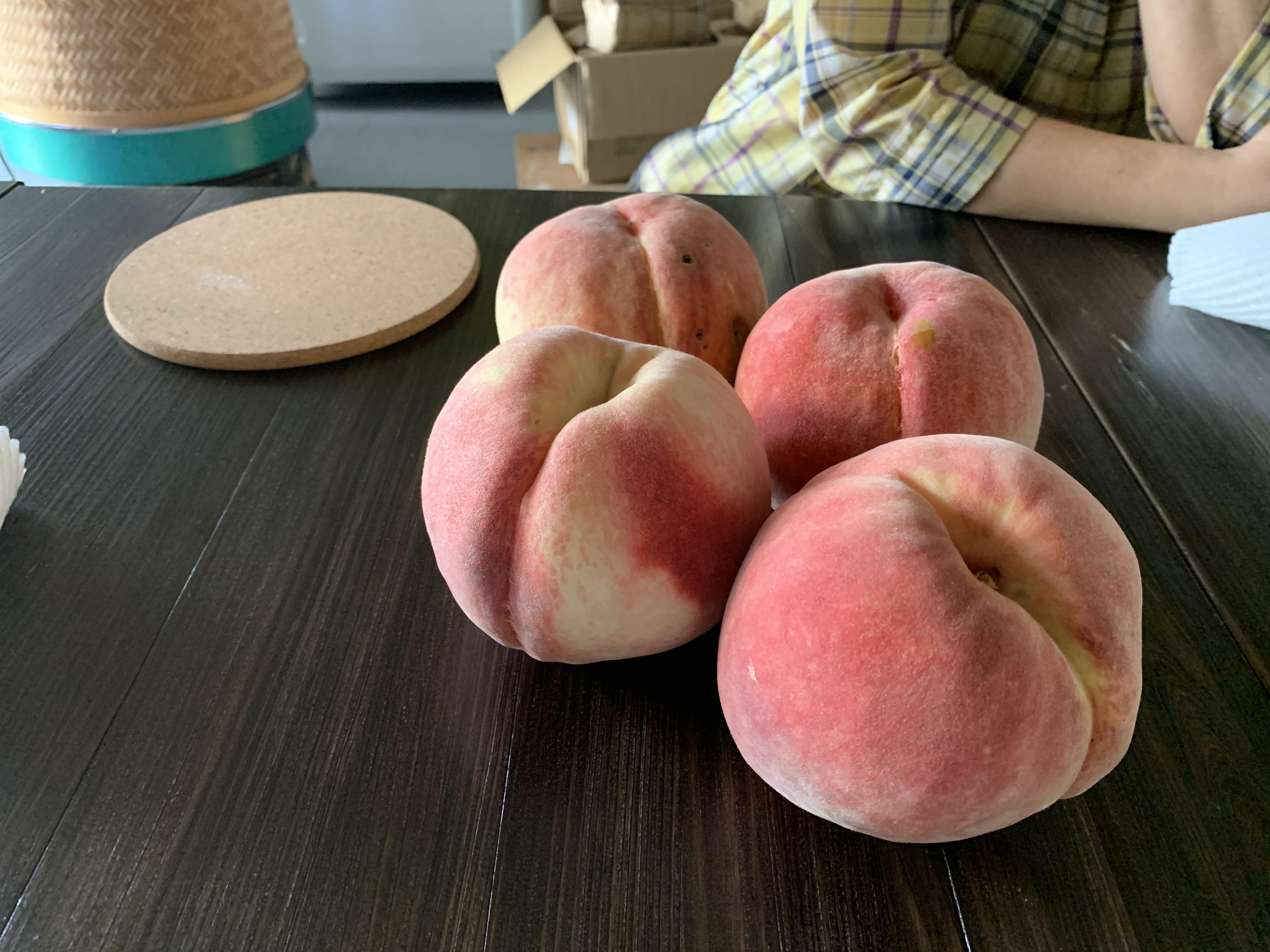 桃パン1個