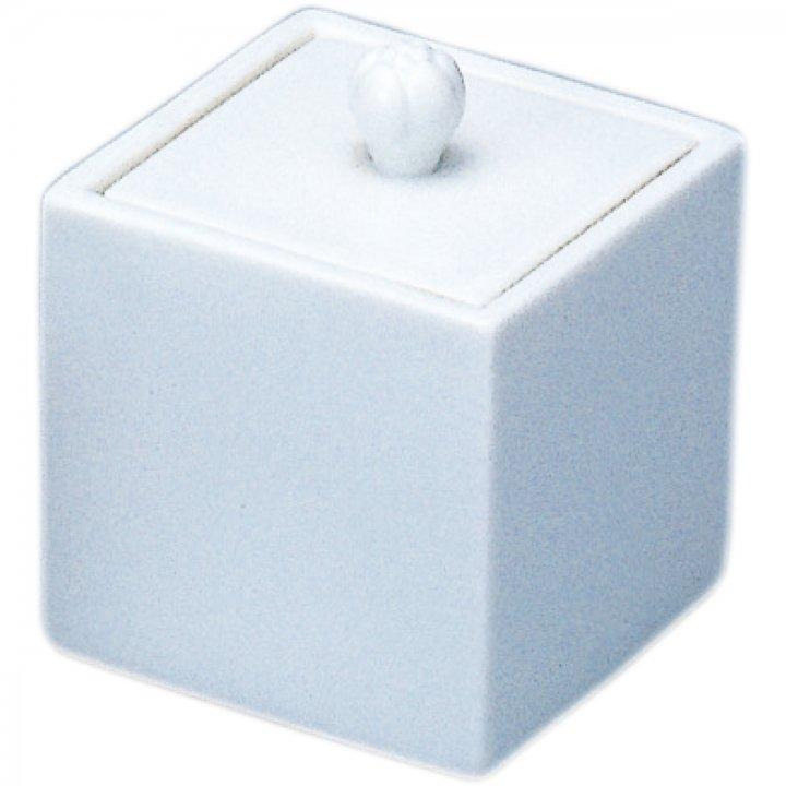白磁 | 四角の骨壺