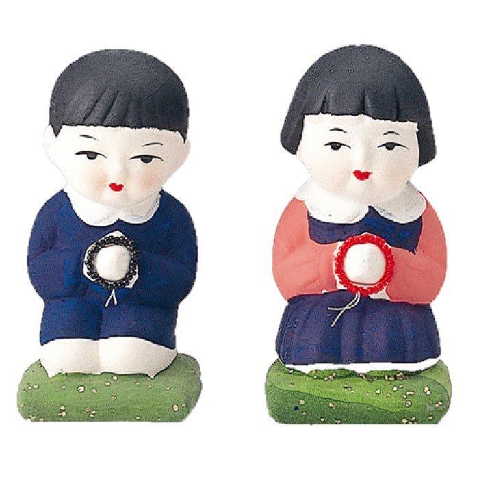 合掌人形(男の子・女の子) | 仏具