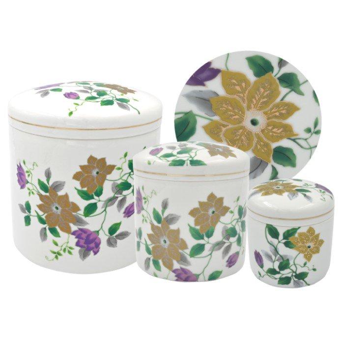 ニュー鉄仙 - 4寸|花の骨壷(骨壺)