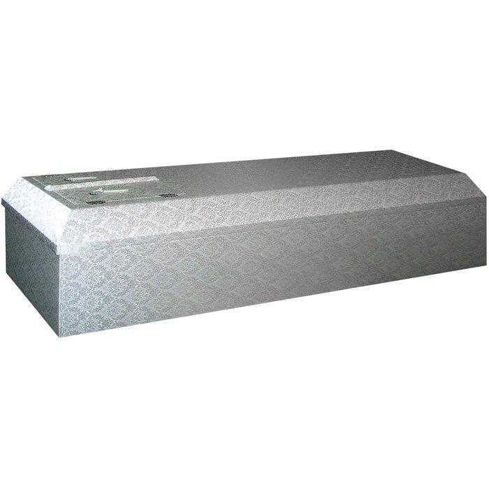ホワイト棺 布張の棺・完成棺(棺桶)