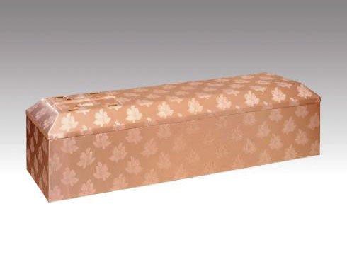 ピンク棺|布張の棺(棺桶)