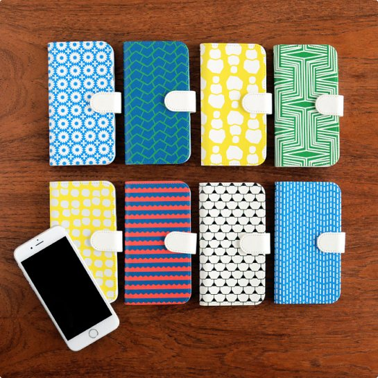 Scandinavian Pattern Collection | 手帳型スマートフォンケース(iPhone6/6s・iPhone7)