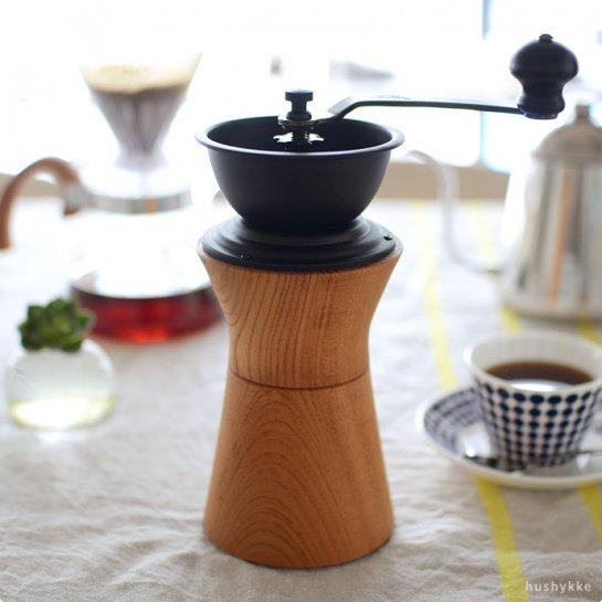 MokuNeji | [MokuNeji×Kalita COFFEE MILL]コーヒーミル(ケヤキ)