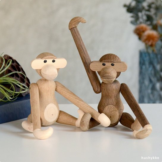 KAY BOJESEN DENMARK│カイ・ボイスン・デンマーク Monkey(サル)メープル/スモークドオーク
