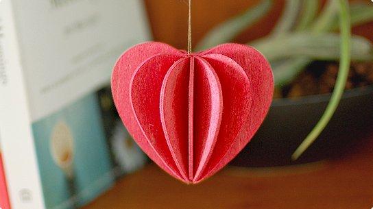 lovi│ロヴィ グリーティングカード[Heart](pink)