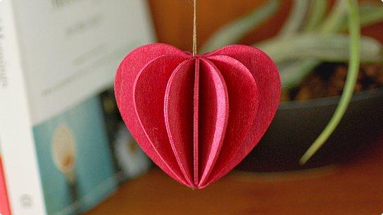 lovi│ロヴィ グリーティングカード[Heart](dark red)