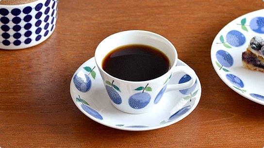 Gustavsberg│グスタフスベリ[PRUNUS(プルヌス)]コーヒーカップ&ソーサー