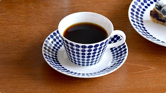 Gustavsberg│グスタフスベリ[ADAM(アダム)]コーヒーカップ&ソーサー