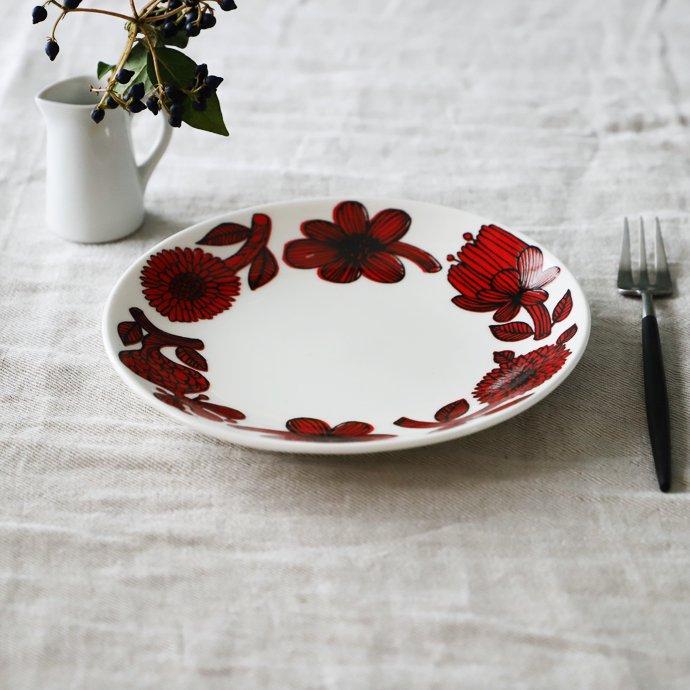 Gustavsberg│グスタフスベリ[RED ASTER(レッドアスター)]Plate 18cm