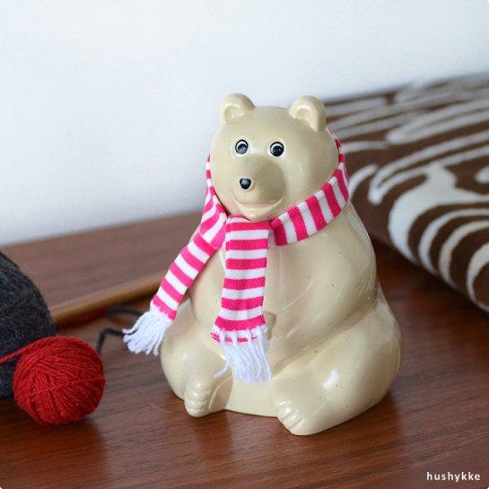 MK Tresmer│エムケートレスマー Polar Bear Money box[白くま貯金箱]