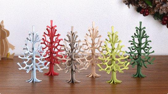 lovi│ロヴィ グリーティングカード[ミニクリスマスツリー]12cm
