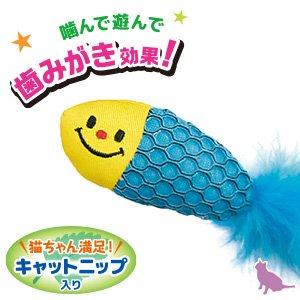 猫用 おもちゃ NM歯みがきトイ01 (サカナ)