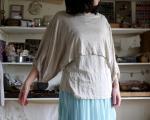 ▼バルーンスリーブポンチョ&フレンチインナーの布セット