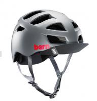 bern サイクルヘルメット/ ALLSTON - MT DARK GRAY