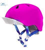 bern キッズサイクルヘルメット/ NINA - SATIN HOT PINK (国内正規品)